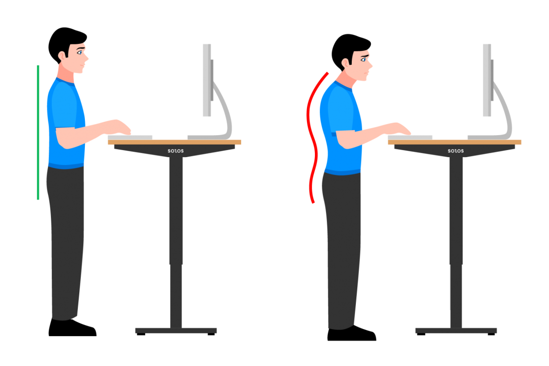 What is the Correct Way to Stand at a Standing Desk? – Common Mistakes to Avoid