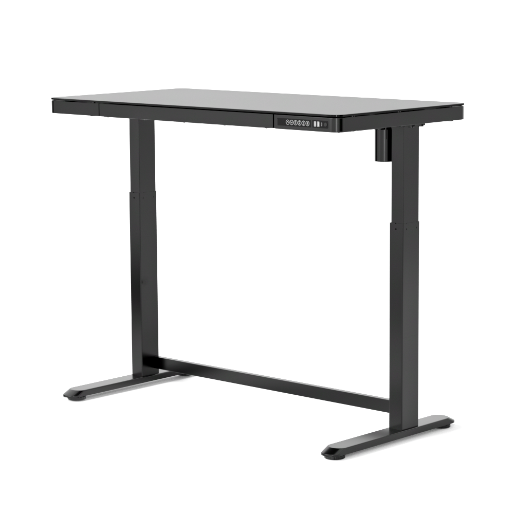 Glass Standing Desk