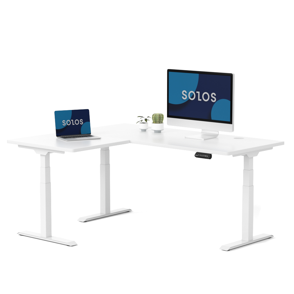 Premium L-shaped Standing Desk