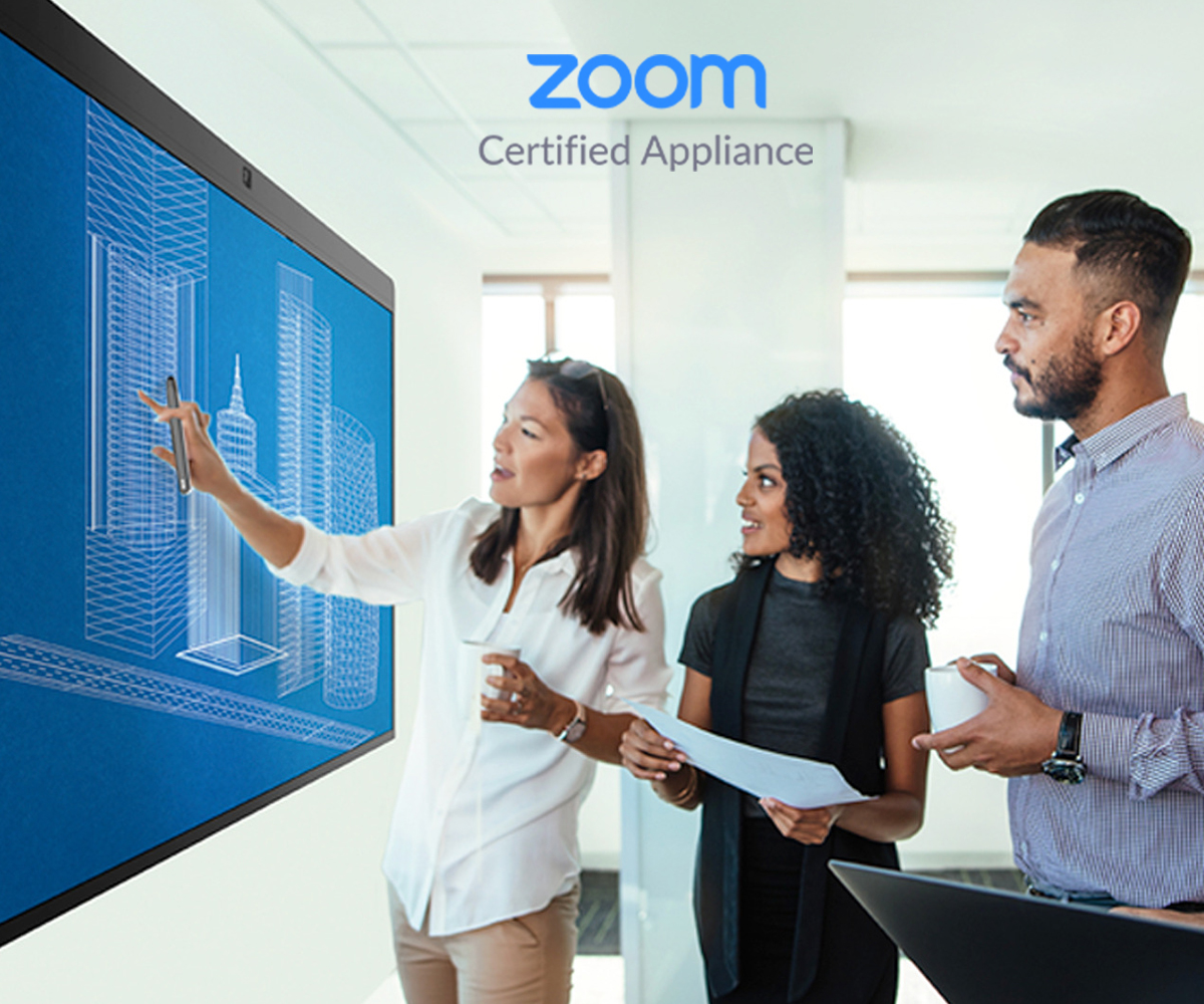 ZOOM Certified All-in-One Zoom Rooms Appliance