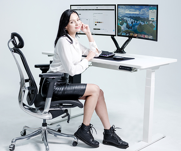 SOLOS Desk Gives a Better Ergonomic Lifestyle for Business Office and Home Office