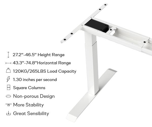 SOLOS ETStand Standing Desk Frame