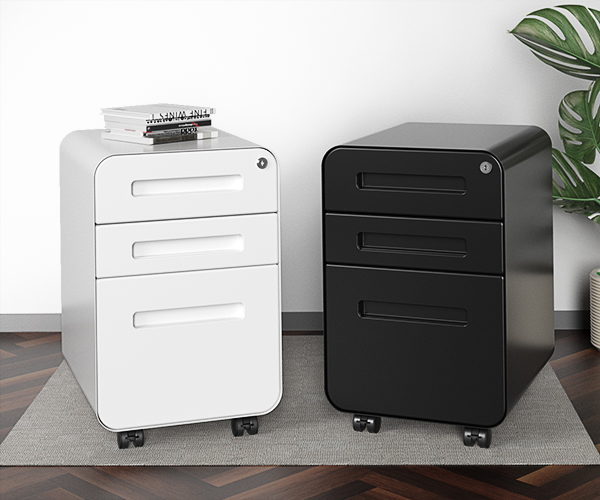 Modern and Sleek Design of SOLOS File Cabinets