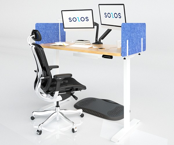 SOLOS Acoustic Side Panel is Made of Sound Dampening Material