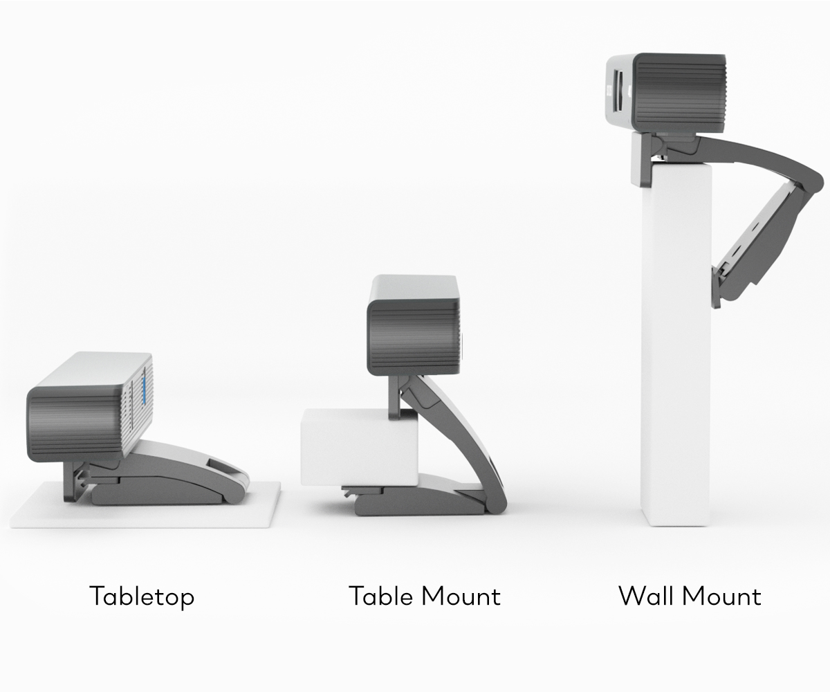 This video conferencing camera is quite easy to assemble