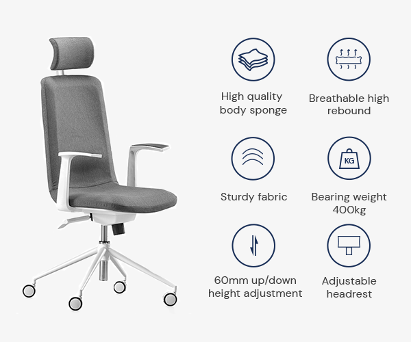 SOLOS Fashion Ergonomic Chair is Easy to Assemble