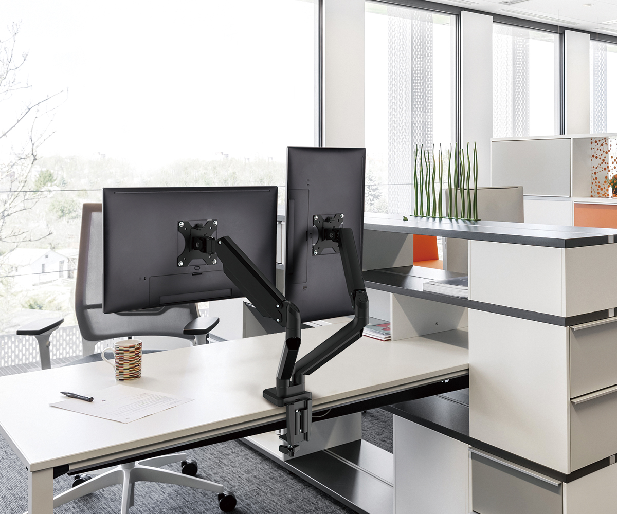 SOLOS Monitor Premium Stand Contributes to More Ergonomic Screen Positioning