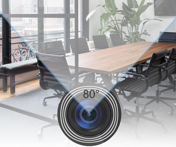 Webcam adopts a super visual CMOS sensor and integrates advanced ISP processing algorithms to improve the image quality.