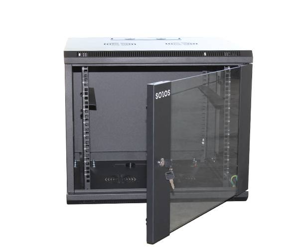 SOLOS 66G wall-mounted cabinet uses the 3rd generation frame structure which makes the minimum capacity improved almost 30% compared with last generation
