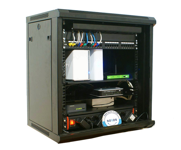 SOLOS 66G wall-mounted cabinet is perfectly evolved for your best IT solution integration