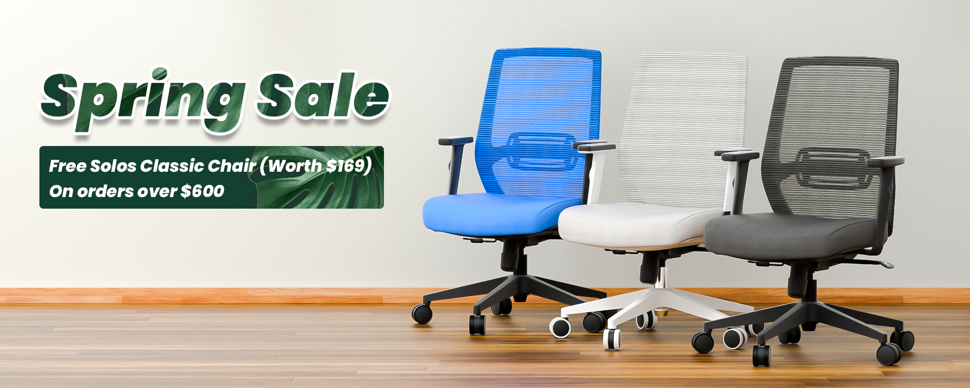 SOLOS Spring Sale Free Chair
