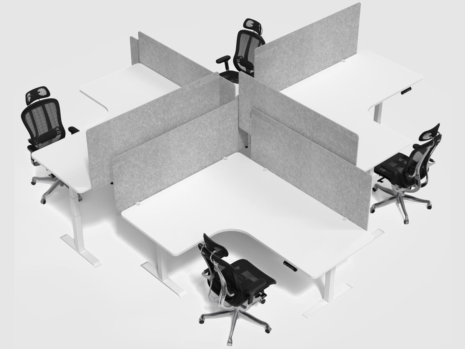 corner desk save space