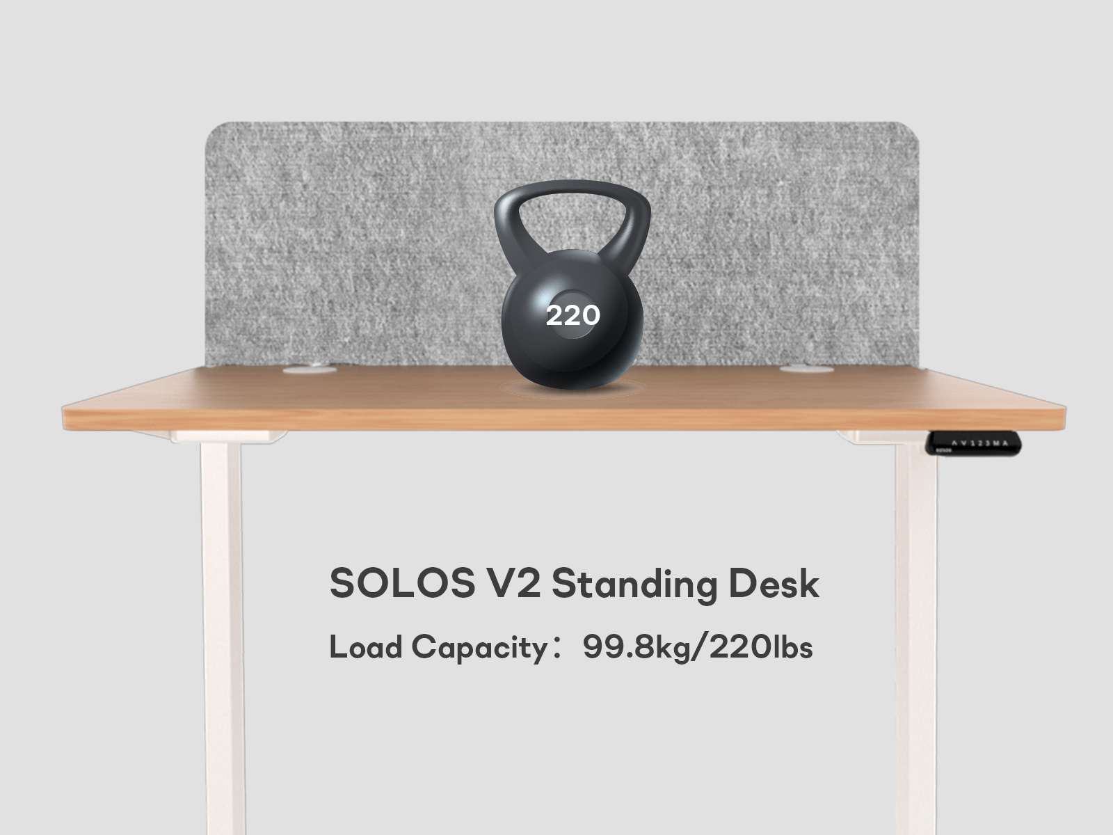 standing desk weight capacity