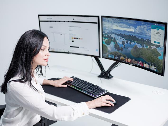 ergonomic workplace