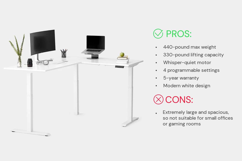 Autonomous L-Shaped Smart Desk Corner