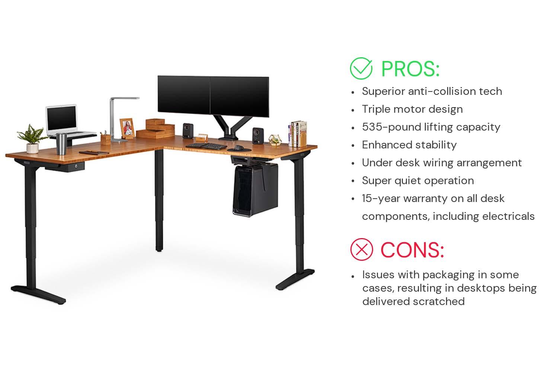 UPLIFT V2 L-Shaped Standing Desk