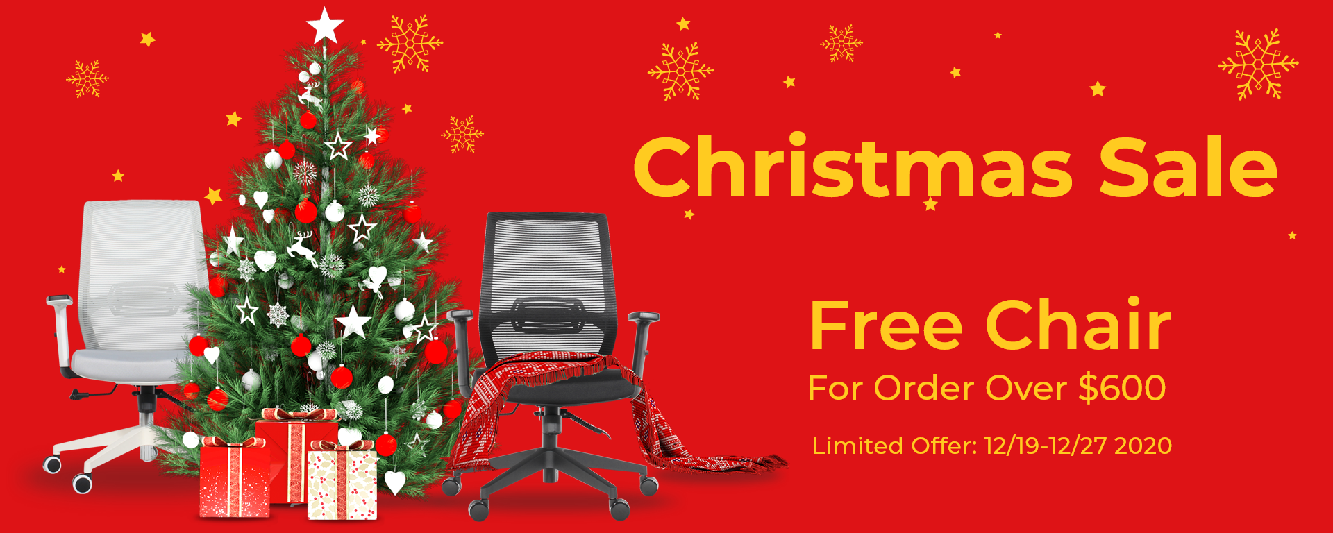 SOLOS Christmas Sale Free Chair